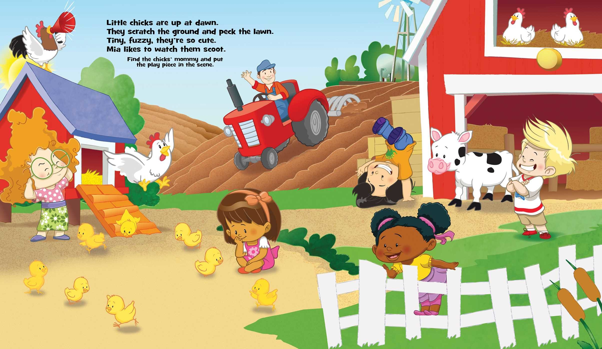 fisher price little people on the farm 9780794433222 in01 the cdc buzz
